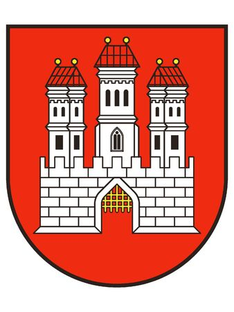Coat of Arms of the City of Bratislava, Slovakia
