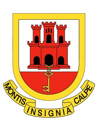 Coat of Arms of the City of Gibraltar