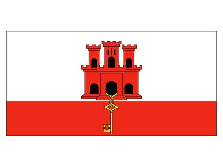 Flag of the City of Gibraltar
