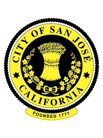 Seal of USA City of San Jose, California