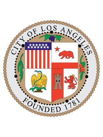 Seal of USA City of Los Angeles, California