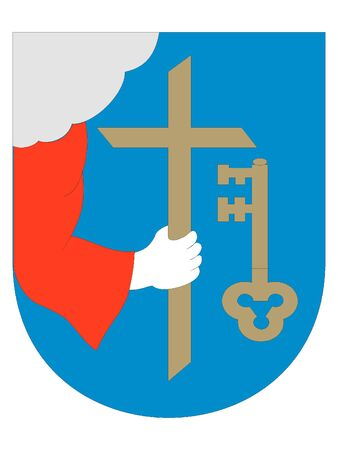Coat of Arms of the Estonian City of Parnu, Estonia