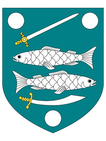 Coat of Arms of the Estonian City of Narva