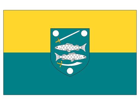 Flag of the Estonian City of Narva, Estonia