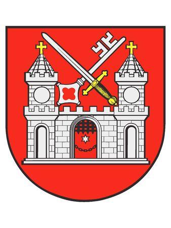Coat of Arms of the Estonian City of Tartu, Estonia
