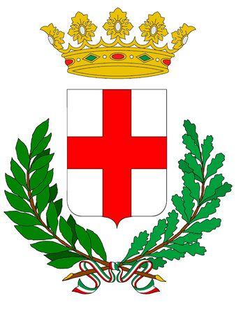 Coat of Arms of the Italian City of Padua, Italy