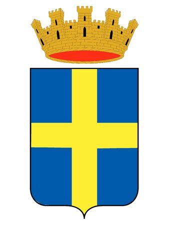Coat of Arms of the Italian City of Verona, Italy