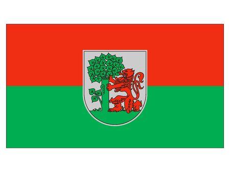 Flag of Latvian City of Liepaja, Latvia
