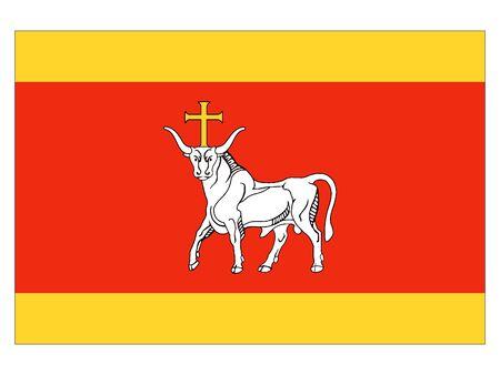 Flag of Lithuanian City of Kaunas, Lithuania