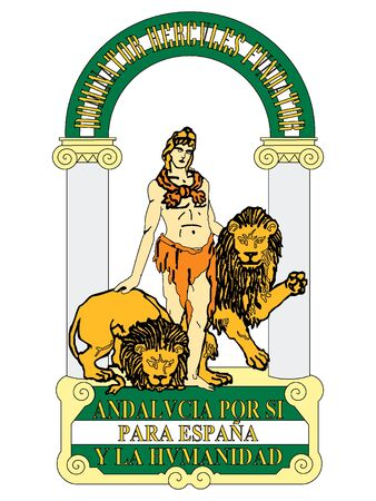 Coat of Arms of the Spanish Autonomous Community of Andalusia