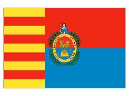 Flag of the Spanish City of Elche