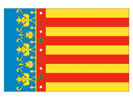 Flag of the Spanish City of Valencia