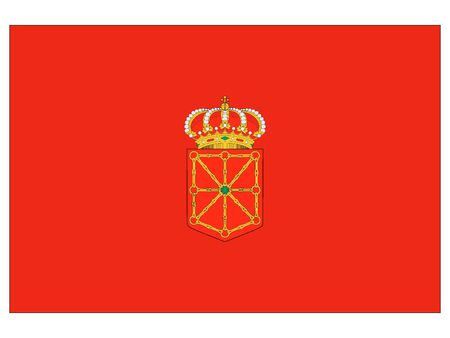 Flag of the Spanish Autonomous Chartered Community of Navarre