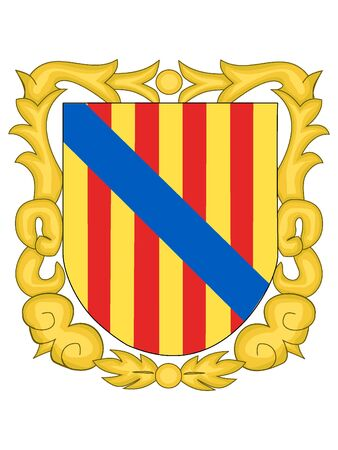 Coat of Arms of the Spanish Autonomous Community of Balearic Islands