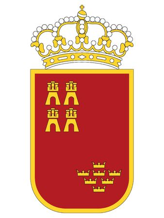 Coat of Arms of the Spanish Autonomous Community of Region of Murcia