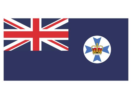 Flag of the Australian State of Queensland