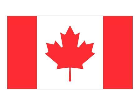 Flat Flag of Canada