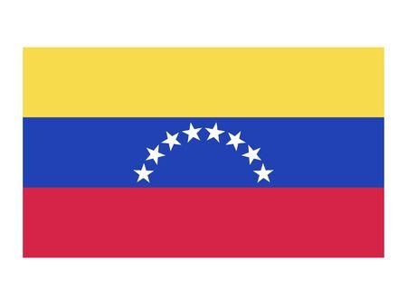 Flat Flag of Venezuela