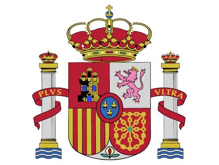 Coat of Arms of Spain Vectores