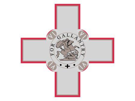 Coat of Arms of Malta 일러스트