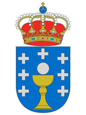 Coat of Arms of the Spanish Autonomous Community of Galicia