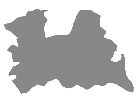 Map of the Netherlands Province of Utrecht