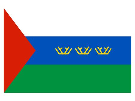 Flag of the Russian Federal Subject of Tyumen Oblast