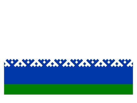 Flag of the Russian Federal Subject of Nenets Autonomous Okrug
