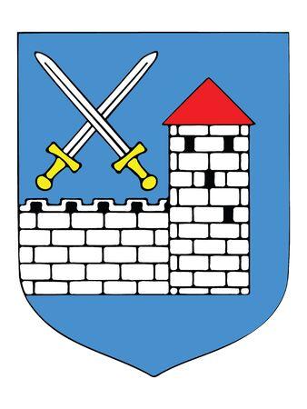 Coat of Arms of Estonian County of Ida-Viru