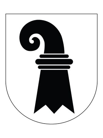 Coat of Arms of the Swiss Canton of Basel-Stadt