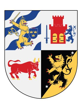 Coat of Arms of the Swedish County of Vastra Gotaland