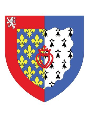 Coat of Arms of the French Region of Pays de la Loire