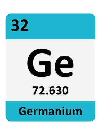 Name, Symbol, Atomic Mass and Atomic Number of the Period Table Element of Germanium