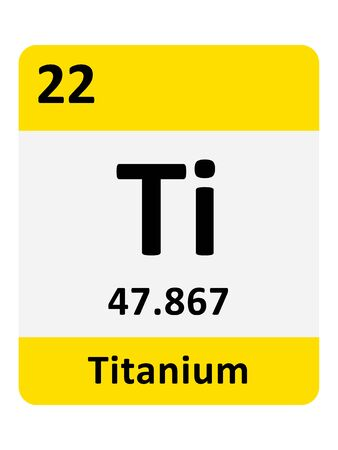 Name, Symbol, Atomic Mass and Atomic Number of the Period Table Element of Titanium