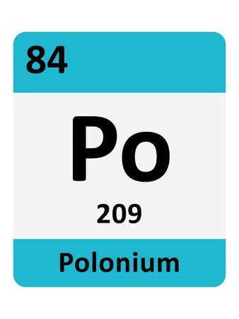 Name, Symbol, Atomic Mass and Atomic Number of the Period Table Element of Polonium