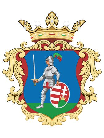 Coat of Arms of the Hungarian County of Nograd