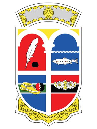 Coat of Arms of the Albanian County of Korce