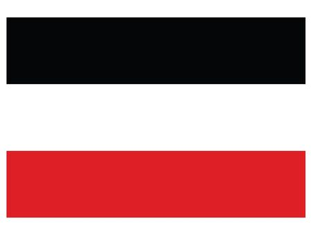 Vector Illustration of the Flag of German Empire (1871–1918)