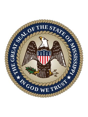 Great Seal of US Federal State of Mississippi (The Magnolia State)