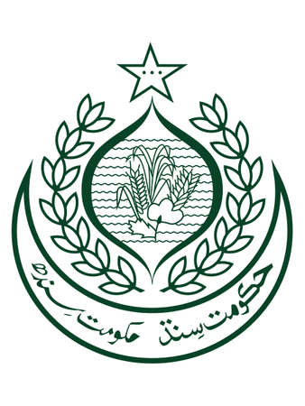 Vector Illustration of the Emblem of Pakistani Province of Sindh