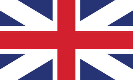 Vector Illustration of the Historical Timeline Flag of Great Britain from 1707 to 1800