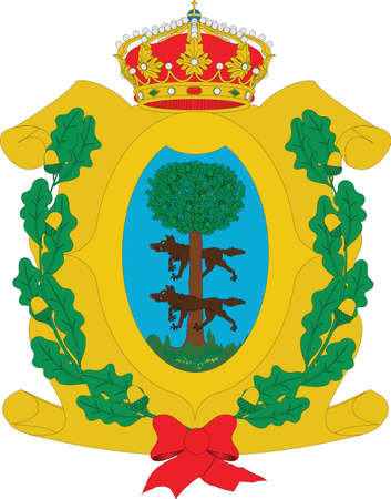 Official vector coat of arms of the Mexican state of Durango