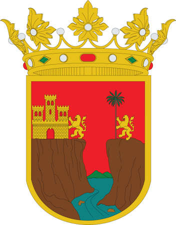 Official vector coat of arms of the Mexican state of Chiapas