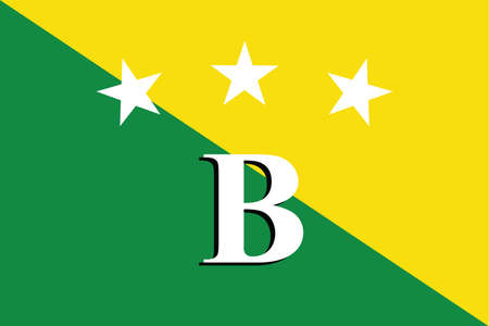 Official vector flag of the Panamanian Bocas del Toro province