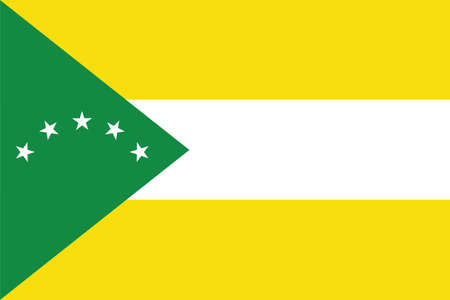 Official vector flag of the Panamanian Panamá Oeste province