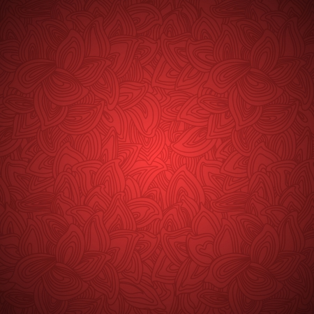 Stylish floral seamless vector background Vector