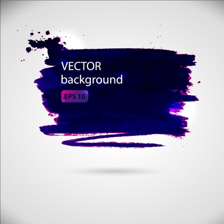 blue brush strokes - the perfect backdrop for your text Vettoriali