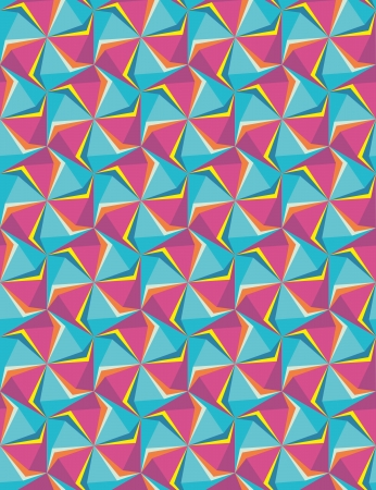 hexagon geometric saemless background.  Retro hipster blue violet color backgrounds. greeting card