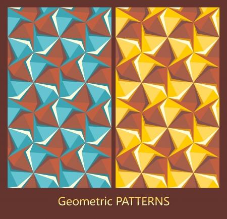 abstract geometric patterns Illustration