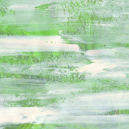 green paint raster background. yellow green brash strokes texture Stock Photo